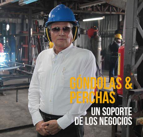 La firma Góndolas & Perchas exhibe la mejor cara del producto en las tiendas.  Líderes-Diario El Comercio